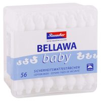 BELLAWA vatové tyčinky Baby 56 ks