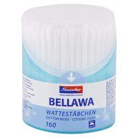 BELLAWA vatové tyčinky do uší v dóze 160 ks