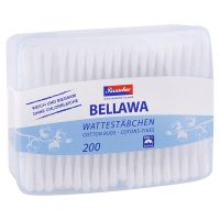Bellawa - Vatové tyčinky v dóze 200ks