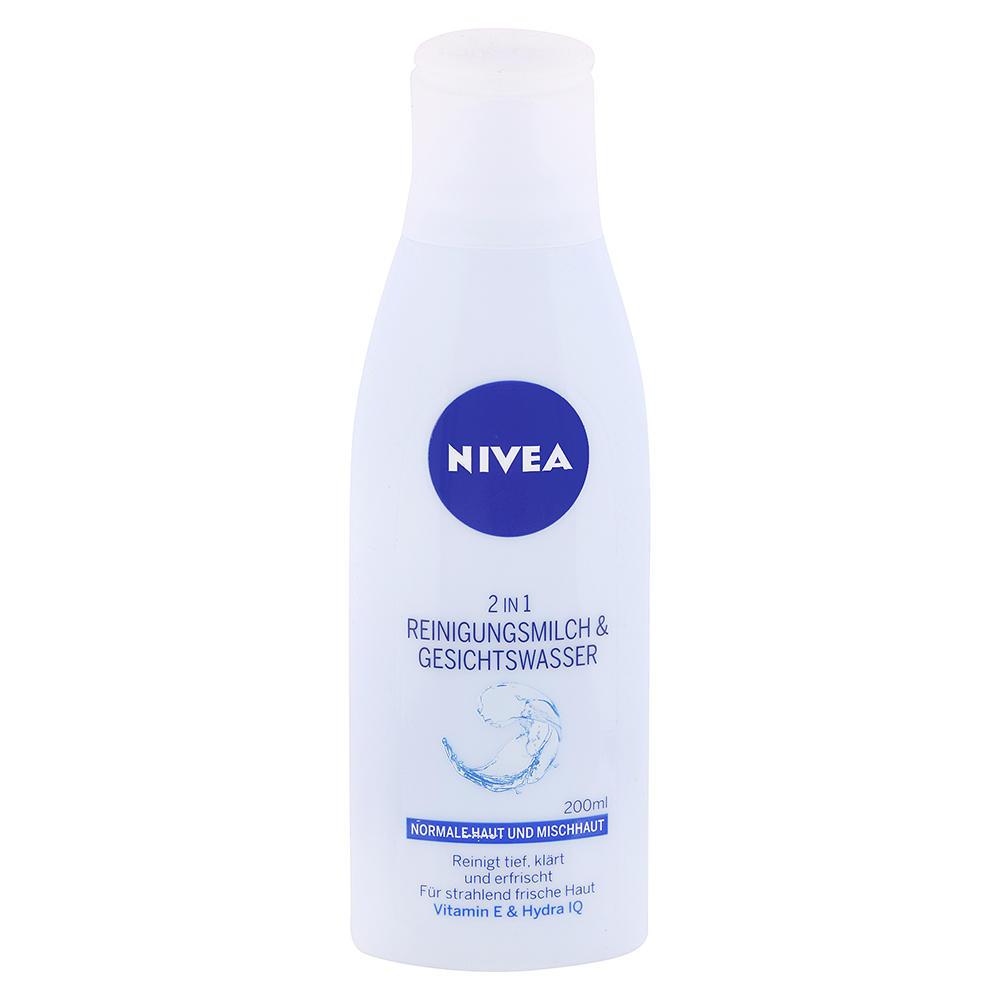 Nivea - Čistiace pleťové mlieko a voda 2 v 1 200ml