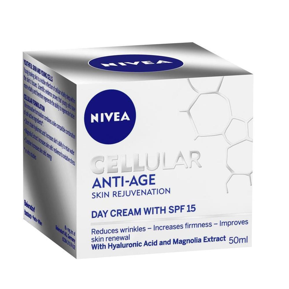 Nivea - Denný krém na omladenie pleti Cellular AntiAge OF15 50ml