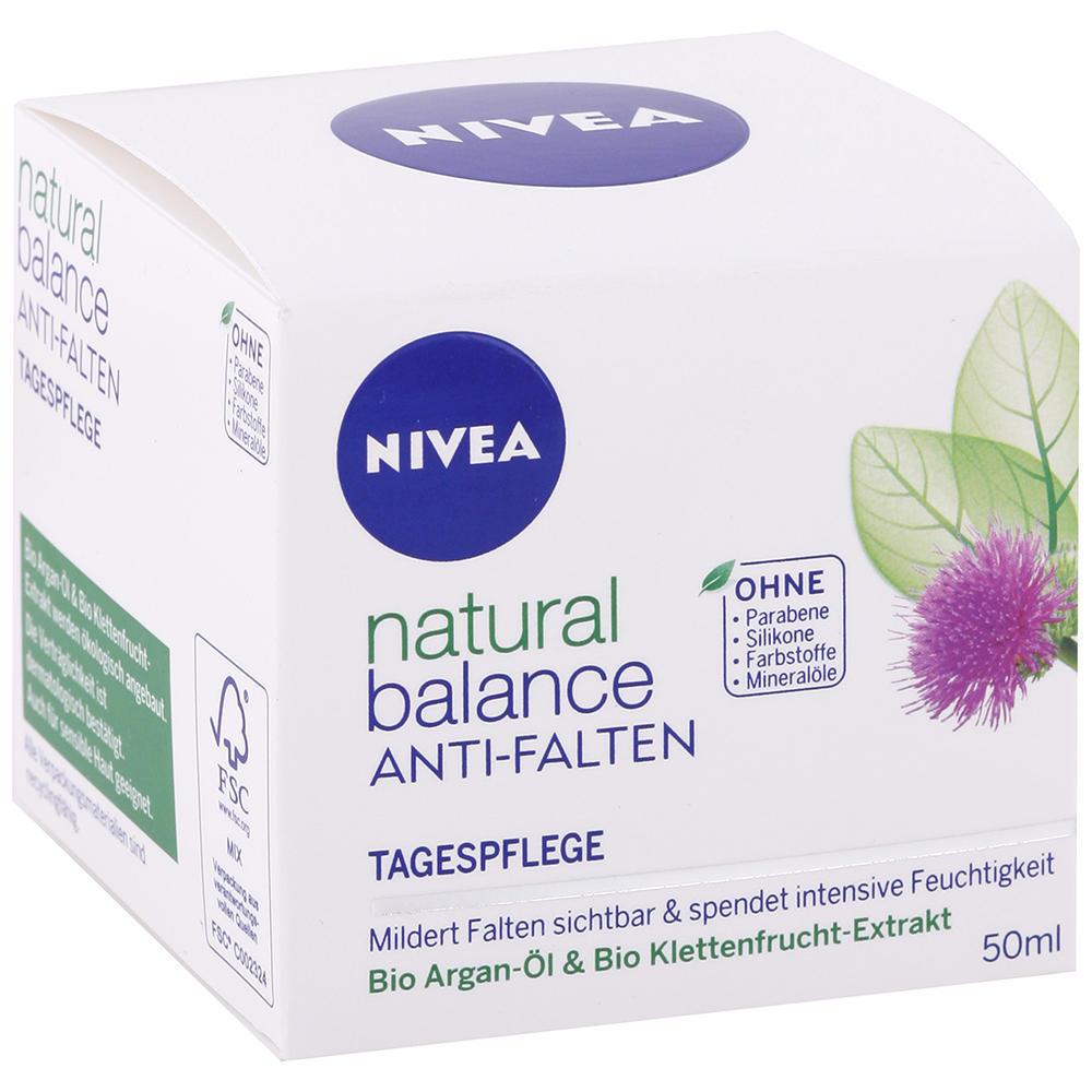 Nivea - Denný krém proti vráskam Natural Balace 50ml