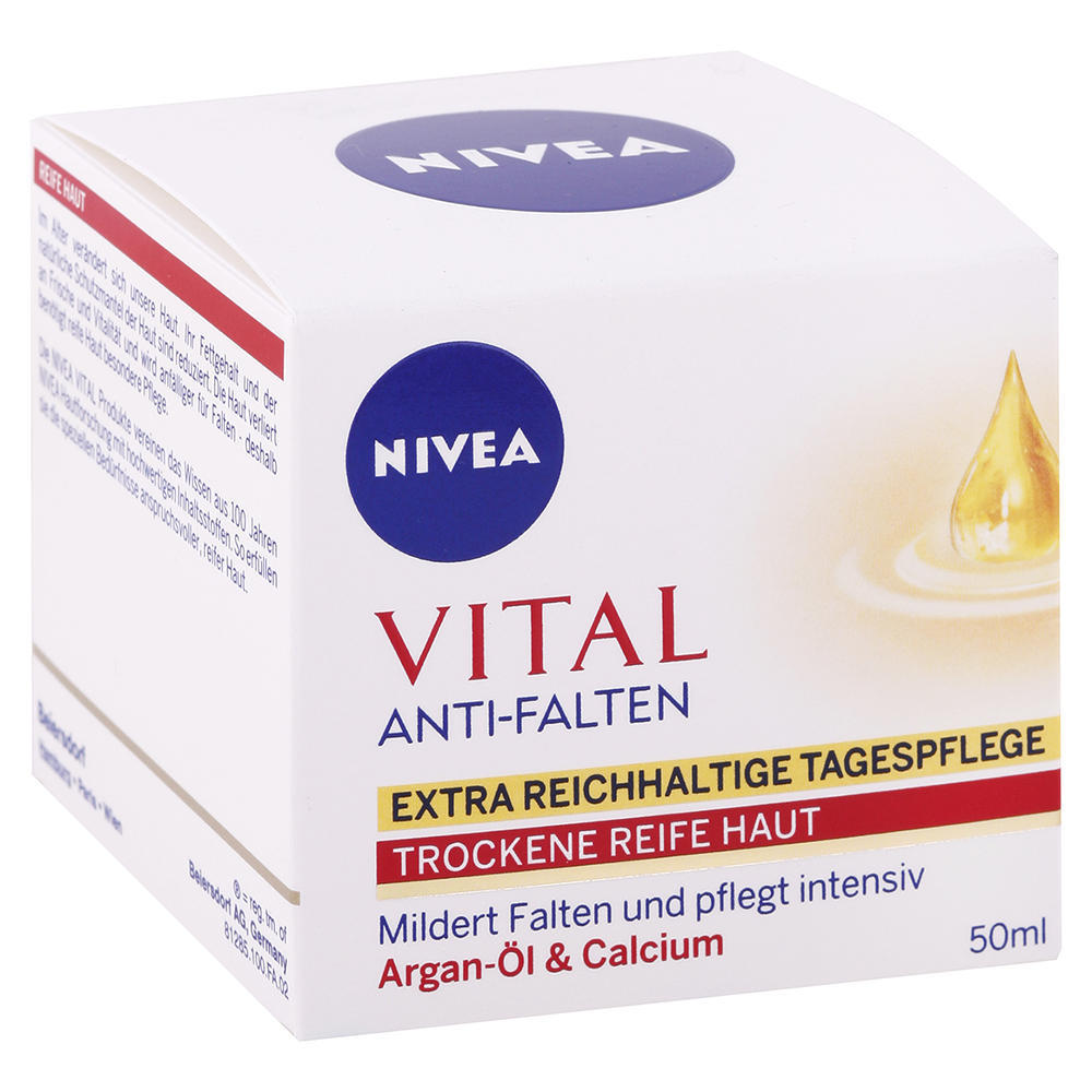Nivea - Denný krém proti vráskam Vital 50ml