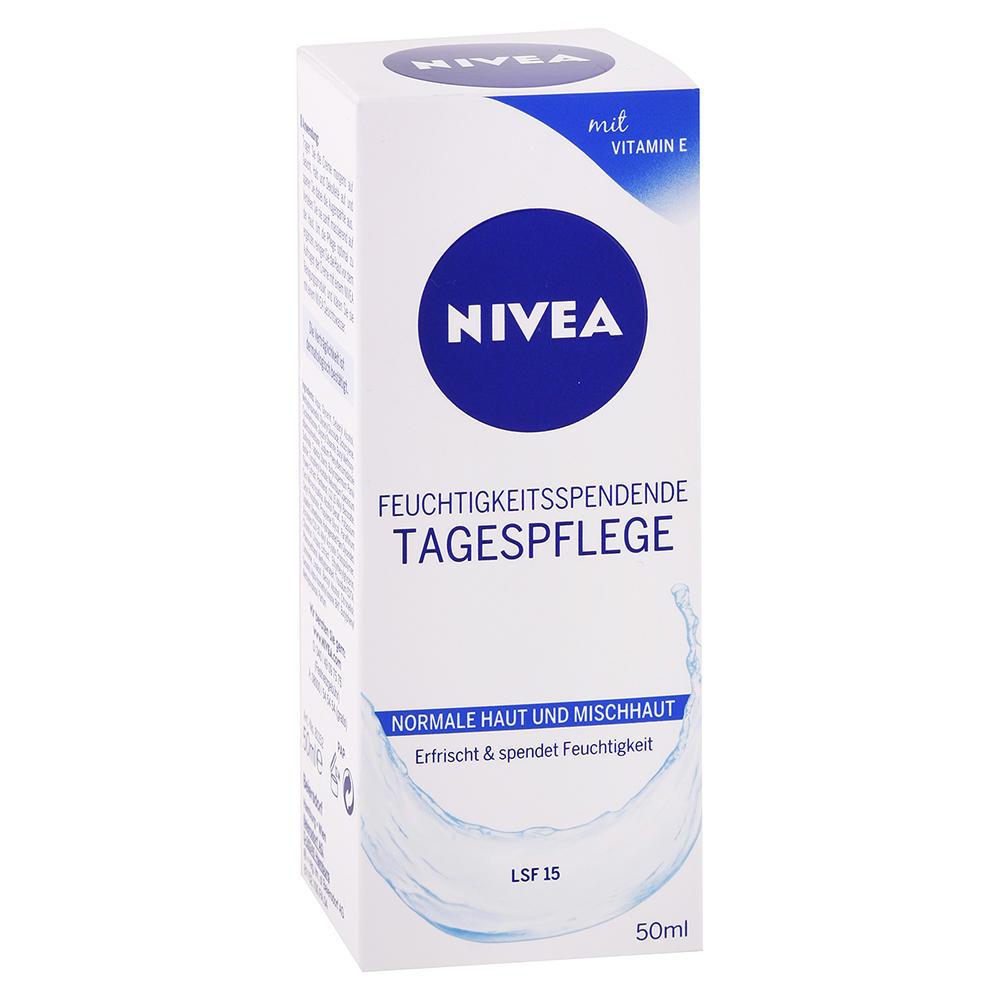 Nivea - Hydratujúci denný krém 50ml OF15