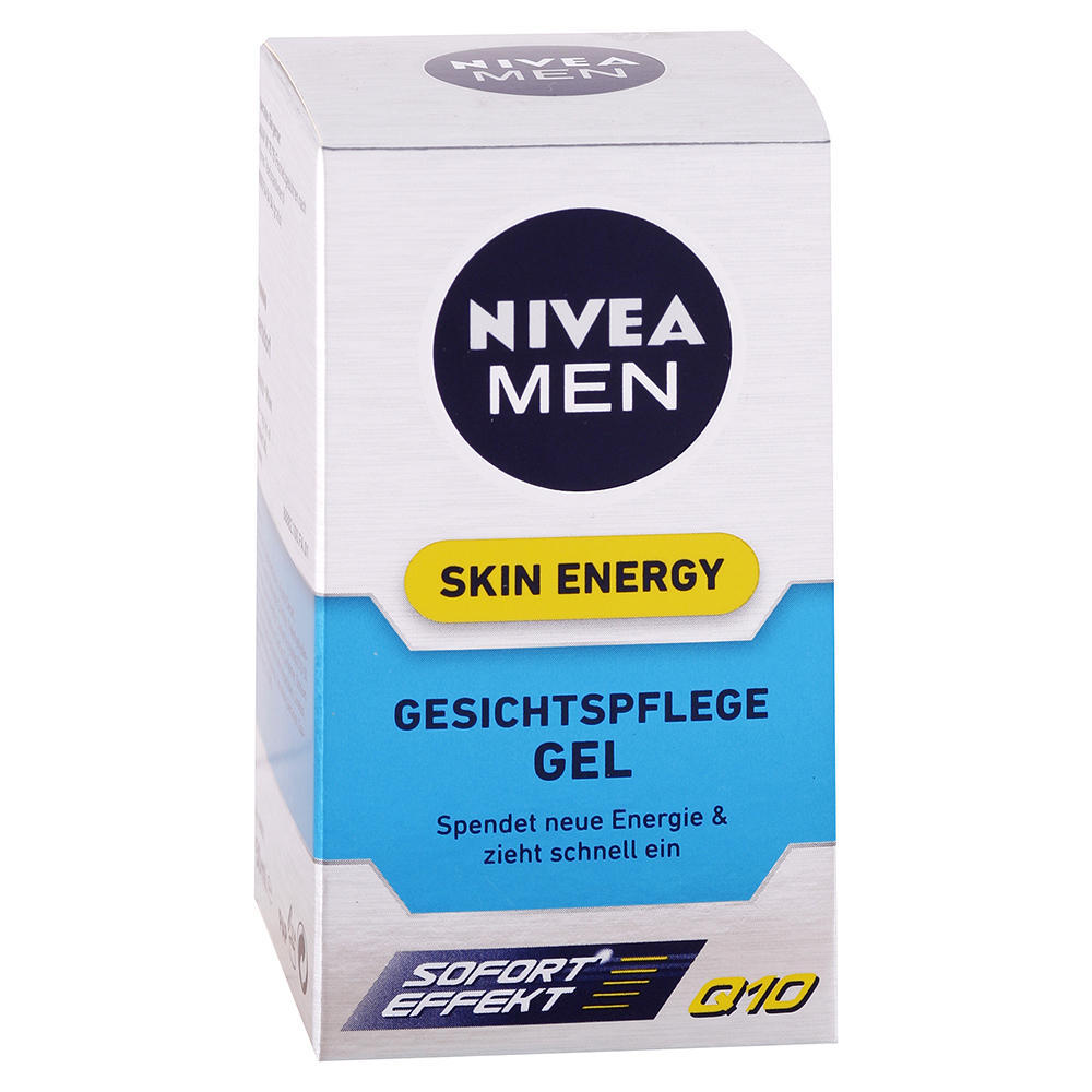 Nivea MEN - Gélový krém na tvár Skin Energy 50ml