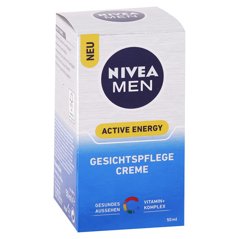 Nivea MEN - Ošetrujúci krém na tvár Active Energy 50ml