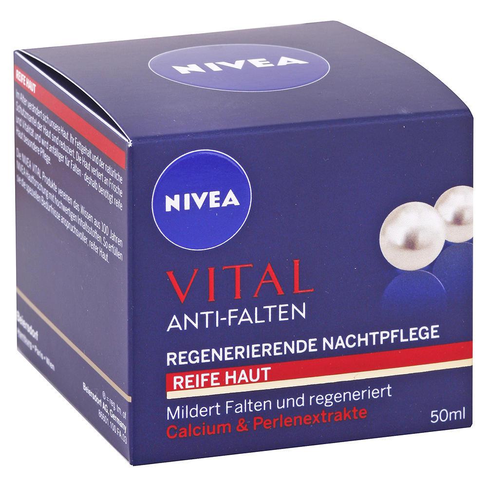 Nivea - Regeneračný nočný krém proti vráskam 50ml
